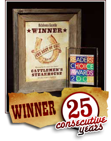 Reader's Choice Winner 17 Consecutive Years