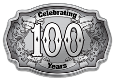 Cattlemen's 100 Years Buckle